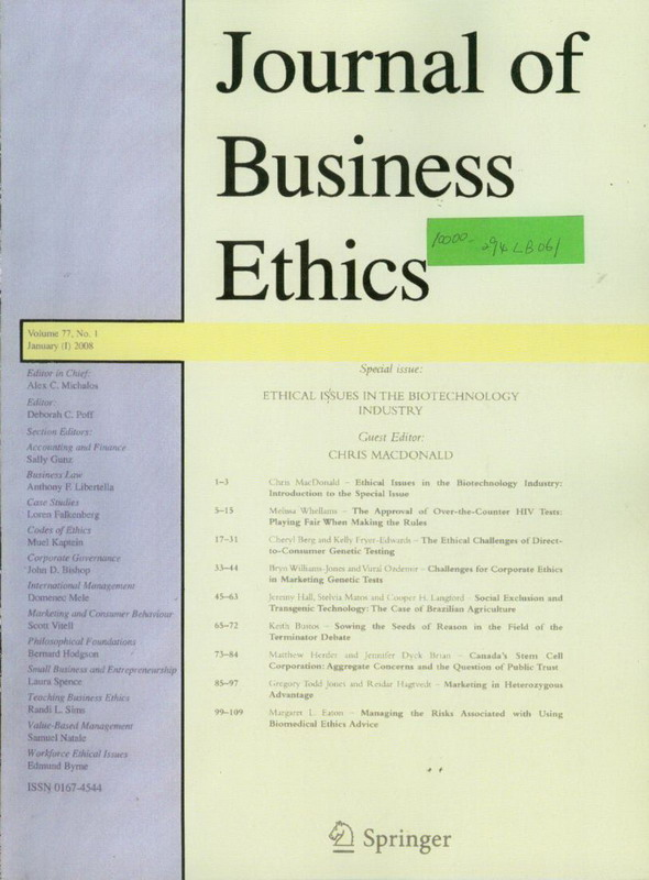 Dissertation Writing Ethics