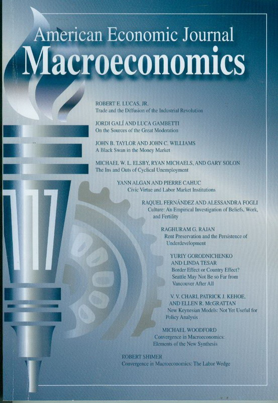 Image result for american economic journal macroeconomics