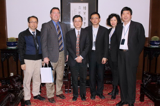 A Visit from The Genealogical Society of Utah to the Shanghai Library